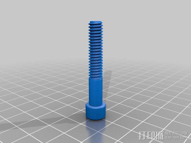 三脚架 手机夹 3D模型  图7