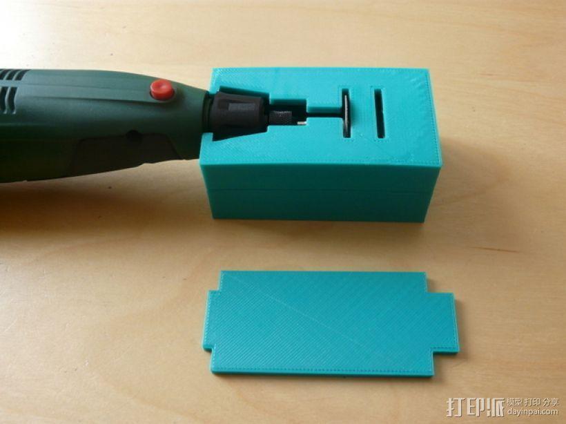 无绳研磨机置放架 3D模型  图1