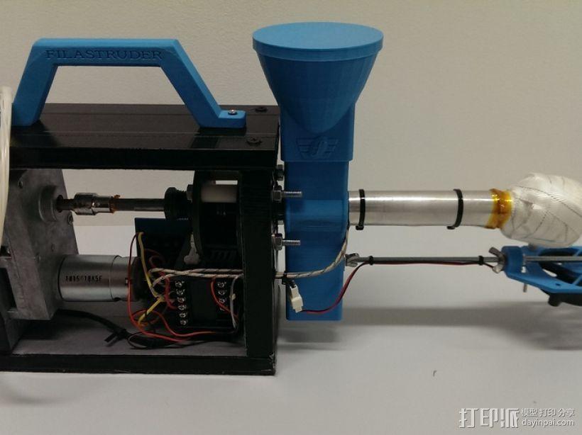 线材挤出机 3D模型  图10