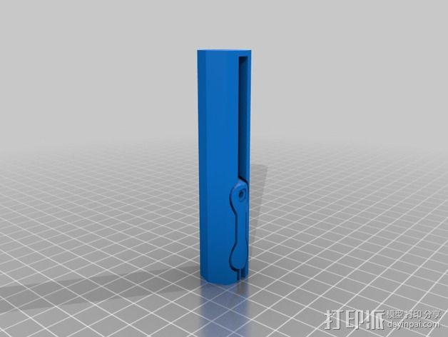可折叠钻头手柄 3D模型  图2