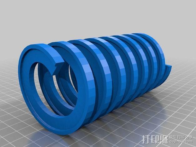 弹簧 测试版 3D模型  图1