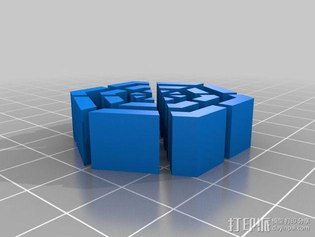 冷却风扇 风扇罩 3D模型  图3