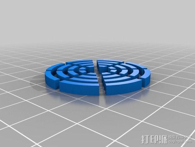 冷却风扇 风扇罩 3D模型  图4