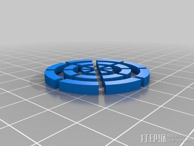 冷却风扇 风扇罩 3D模型  图5