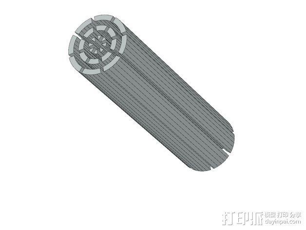 冷却风扇 风扇罩 3D模型  图13