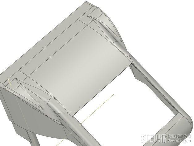 冷却风扇 风扇罩 3D模型  图15