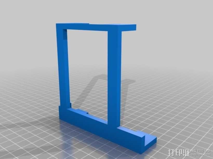 Weller WES51焊台支架 3D模型  图2