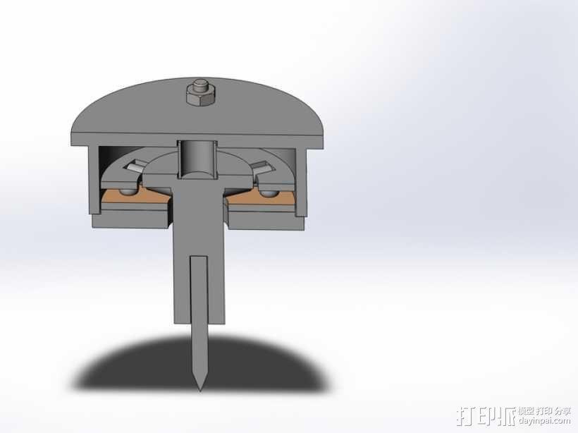 测量/数字化触碰式探针 3D模型  图1