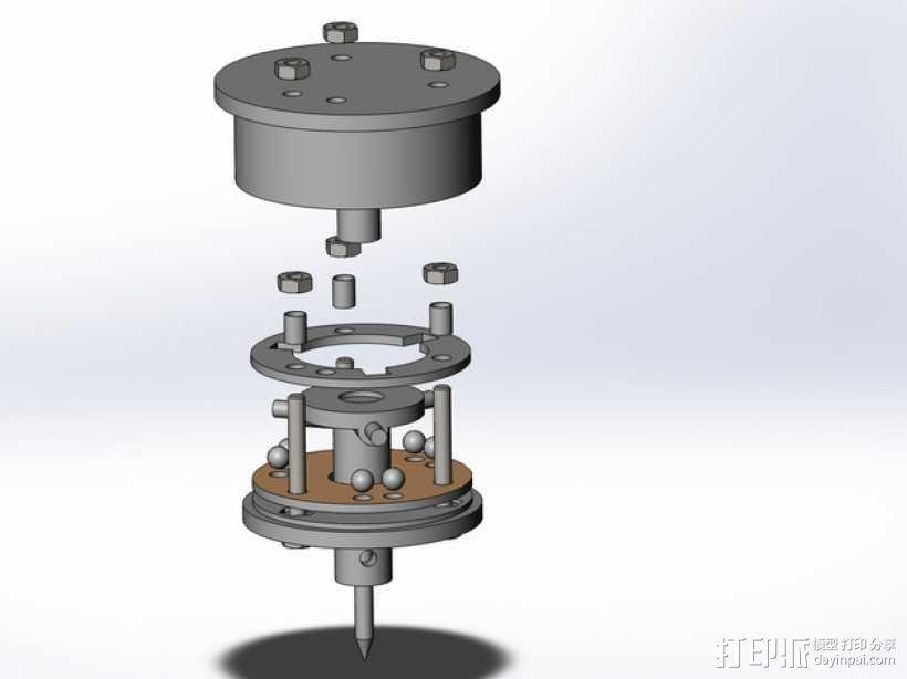 测量/数字化触碰式探针 3D模型  图8