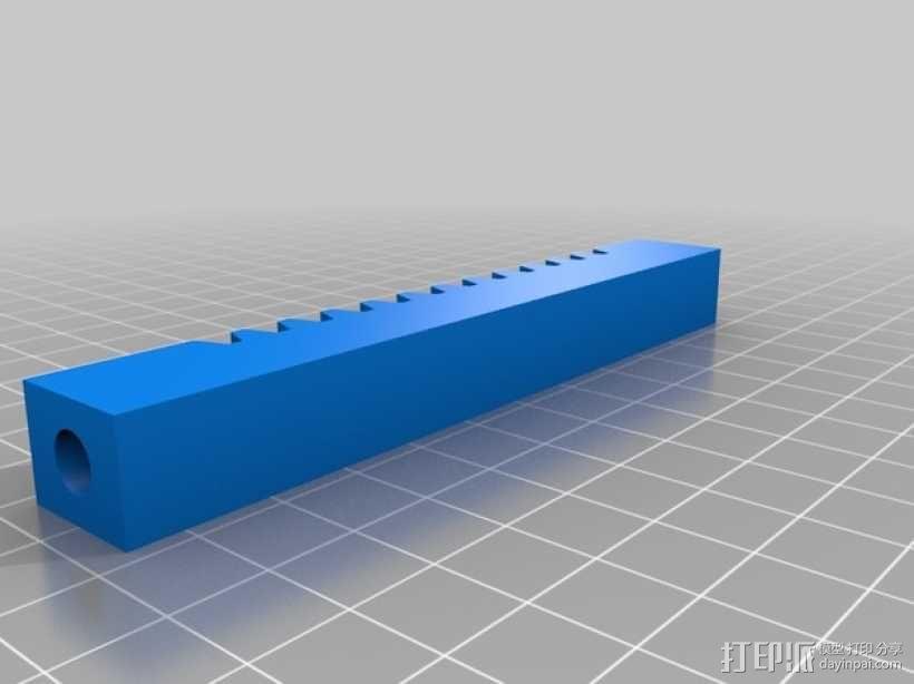 手扳压机 3D模型  图5