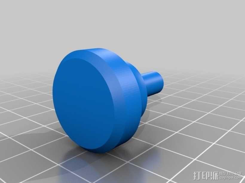 手扳压机 3D模型  图4