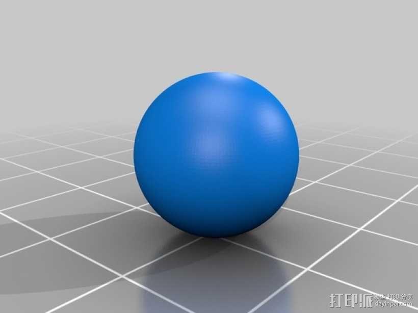 手扳压机 3D模型  图7