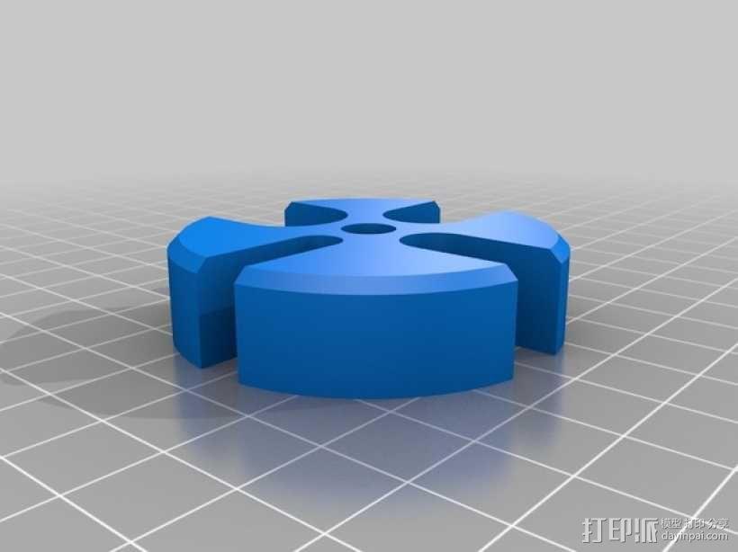 手扳压机 3D模型  图6