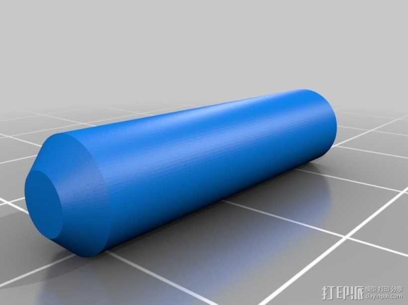 手扳压机 3D模型  图8