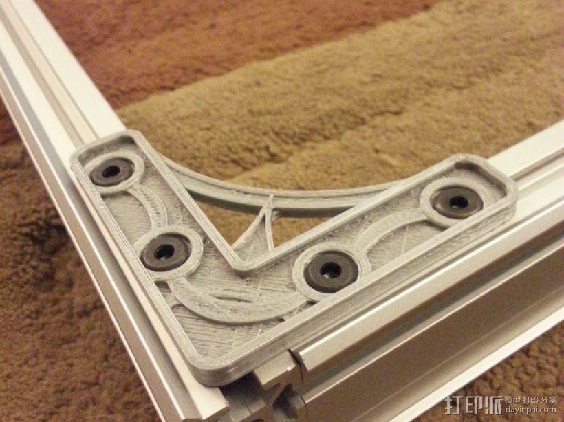 MakerSlide角支架 3D模型  图1