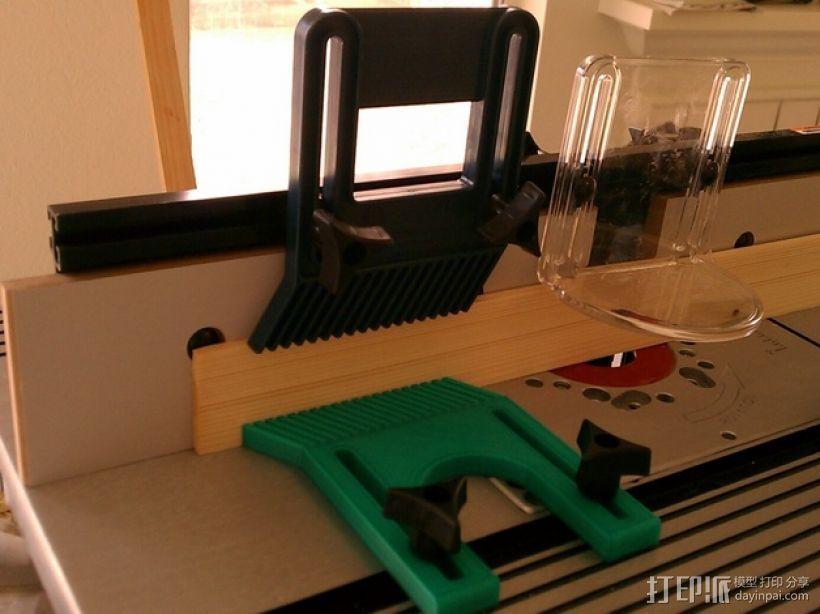 铣削台锁紧螺帽 3D模型  图1