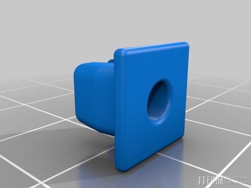 丰田汽车螺母 3D模型  图3