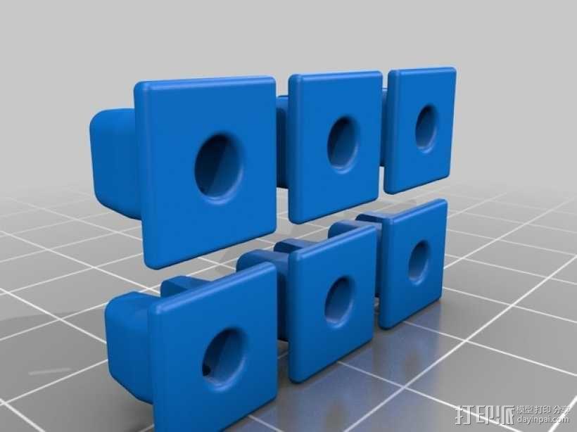 丰田汽车螺母 3D模型  图4