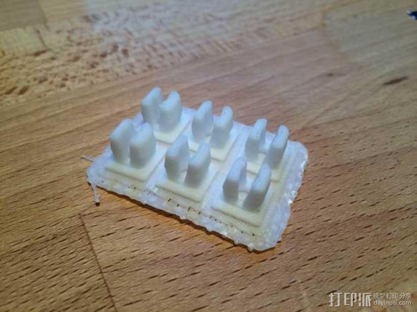 丰田汽车螺母 3D模型  图5