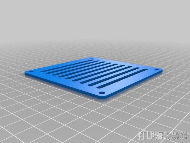 个性化数控铣床外壳 3D模型  图2