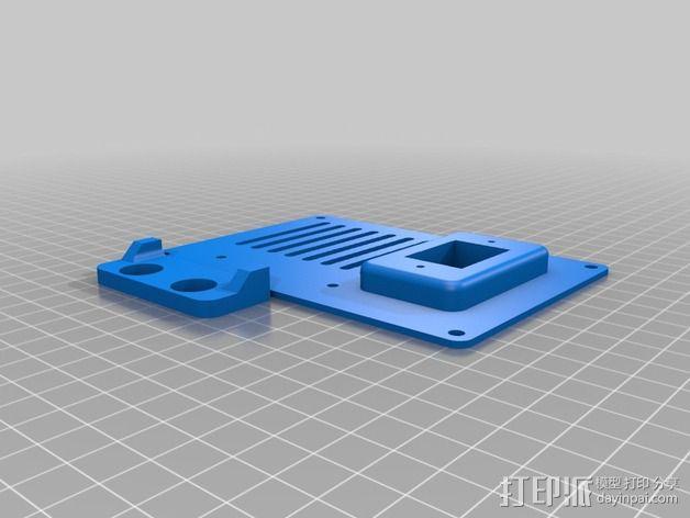 个性化数控铣床外壳 3D模型  图6