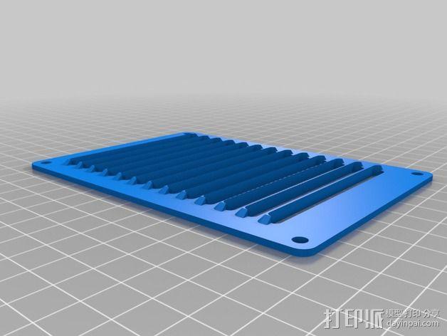 个性化数控铣床外壳 3D模型  图5