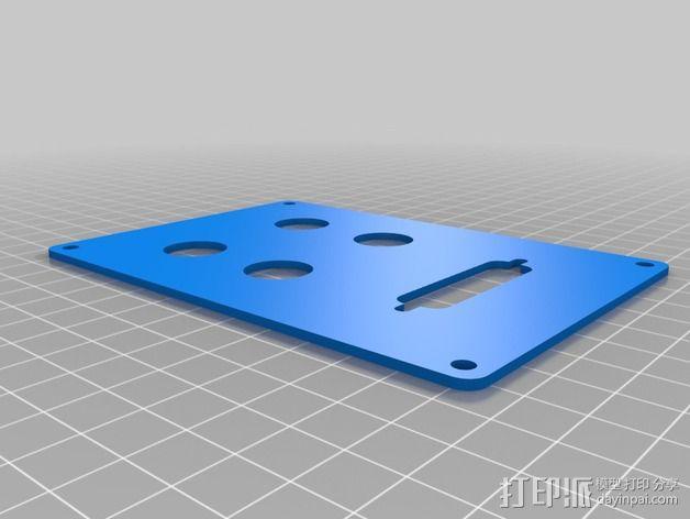 个性化数控铣床外壳 3D模型  图10