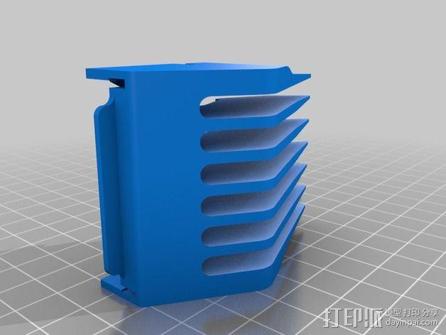 理发机刀片 3D模型  图2