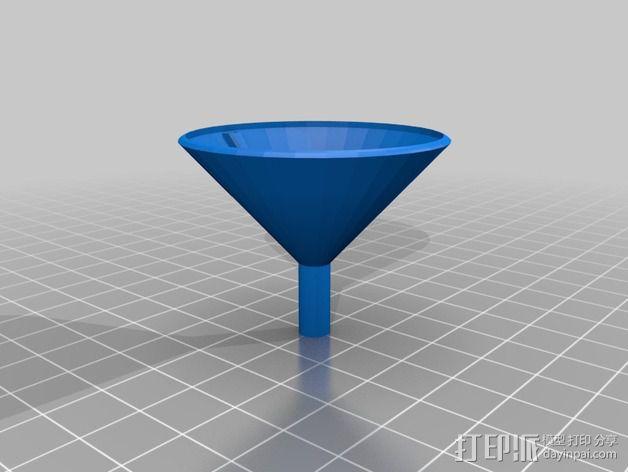 简易漏斗 3D模型  图1