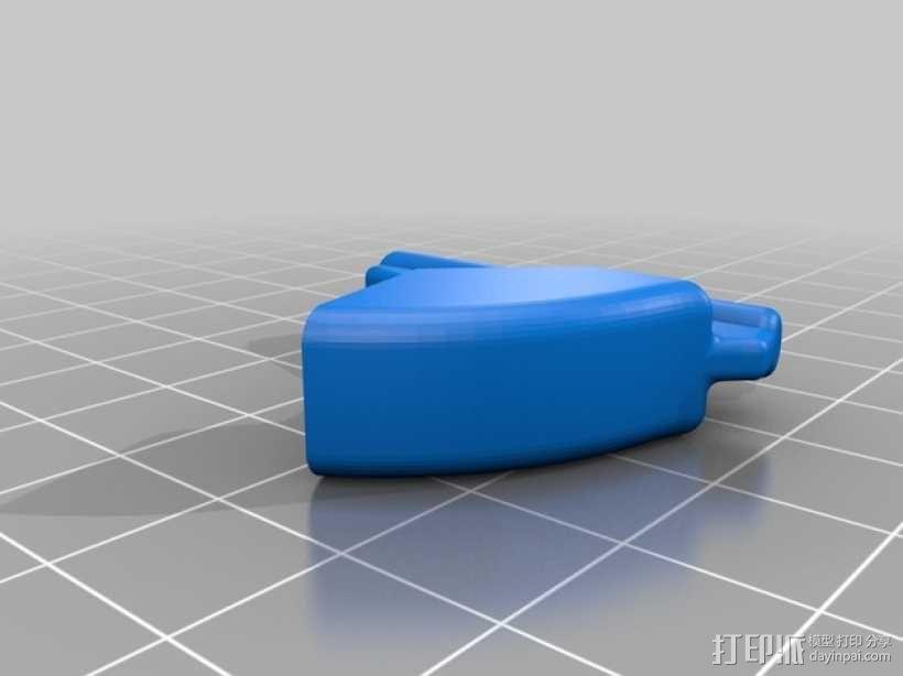 可调扳手 3D模型  图5