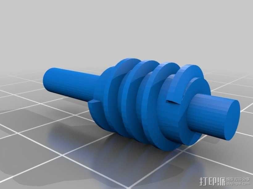 可调扳手 3D模型  图6