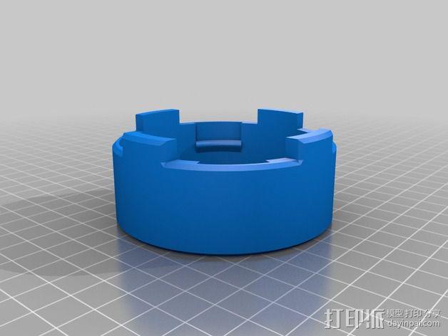 磨床  3D模型  图2