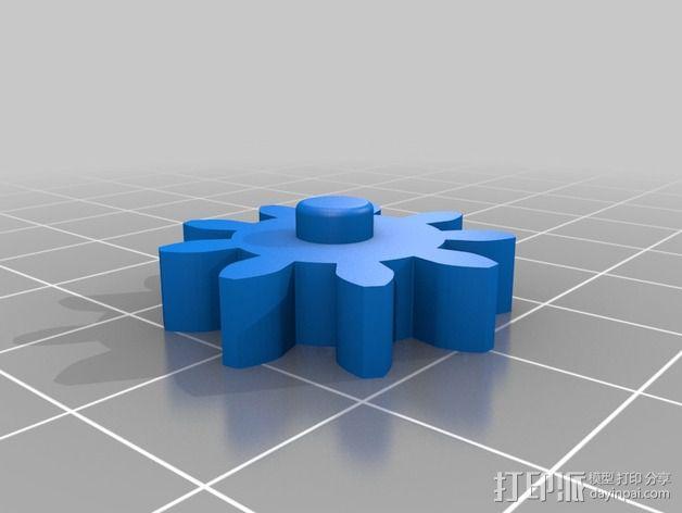 磨床  3D模型  图4