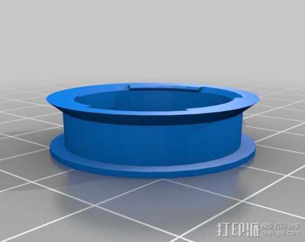 参数化空转轮 3D模型  图3