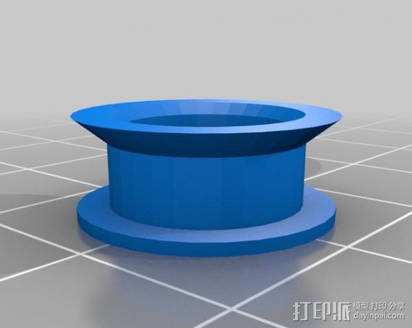 参数化空转轮 3D模型  图4