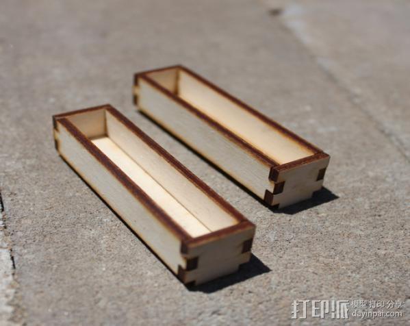 钓鱼竿 迷你工具盒 3D模型  图14