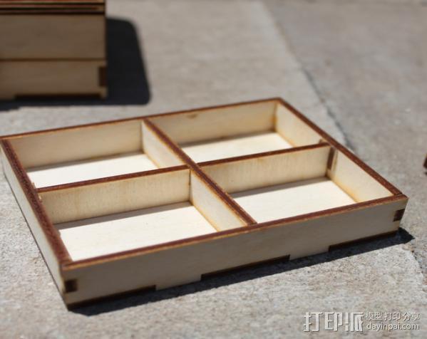 钓鱼竿 迷你工具盒 3D模型  图13