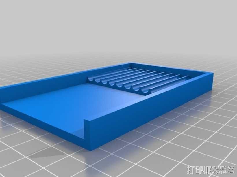 参数化笔架 3D模型  图2