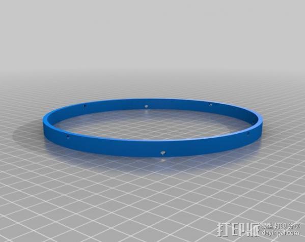 ShopVac真空吸尘器 旋风分离器 3D模型  图2