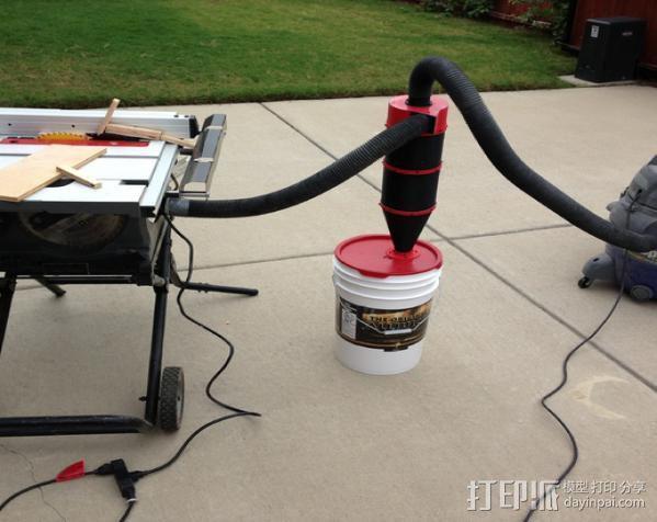 ShopVac真空吸尘器 旋风分离器 3D模型  图11