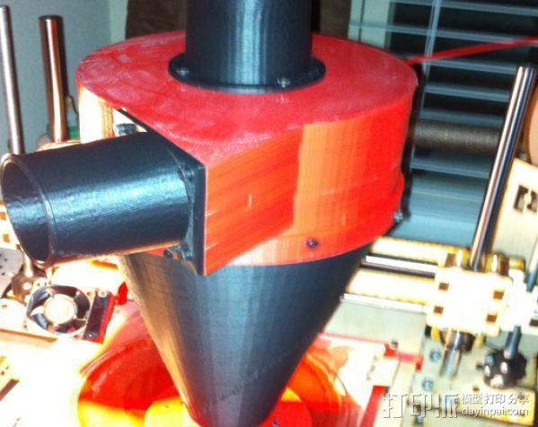 ShopVac真空吸尘器 旋风分离器 3D模型  图13