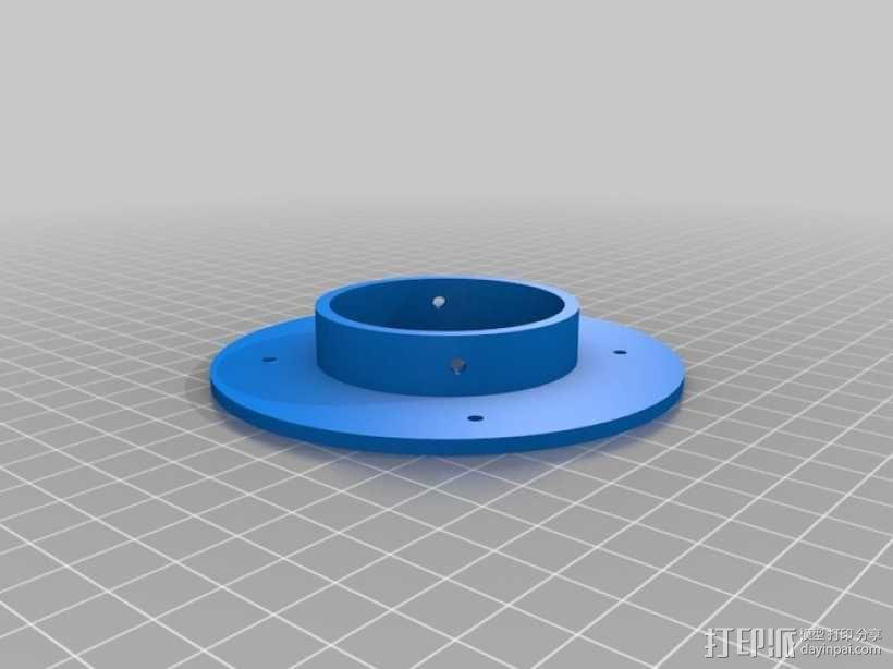 ShopVac真空吸尘器 旋风分离器 3D模型  图17