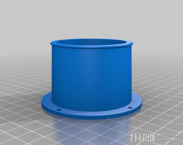 ShopVac真空吸尘器 旋风分离器 3D模型  图15