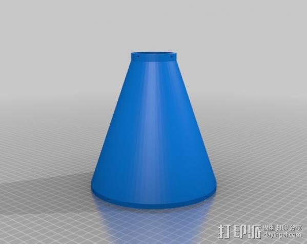 ShopVac真空吸尘器 旋风分离器 3D模型  图16