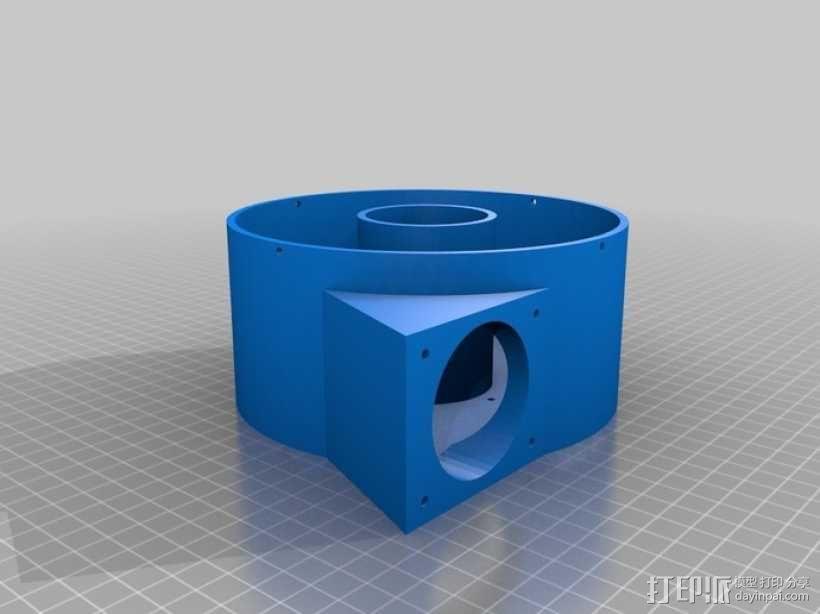 ShopVac真空吸尘器 旋风分离器 3D模型  图18