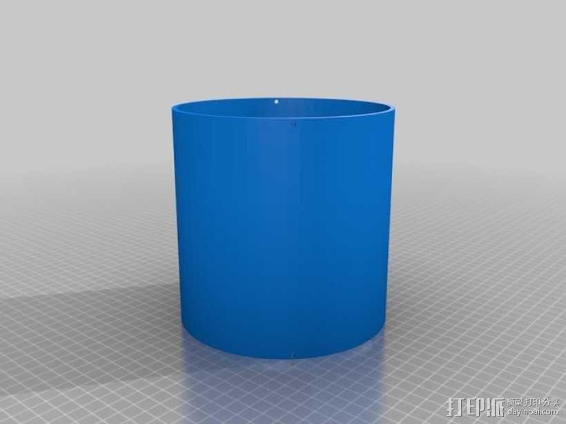 ShopVac真空吸尘器 旋风分离器 3D模型  图19