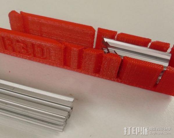 钢锯条收纳架 3D模型  图3