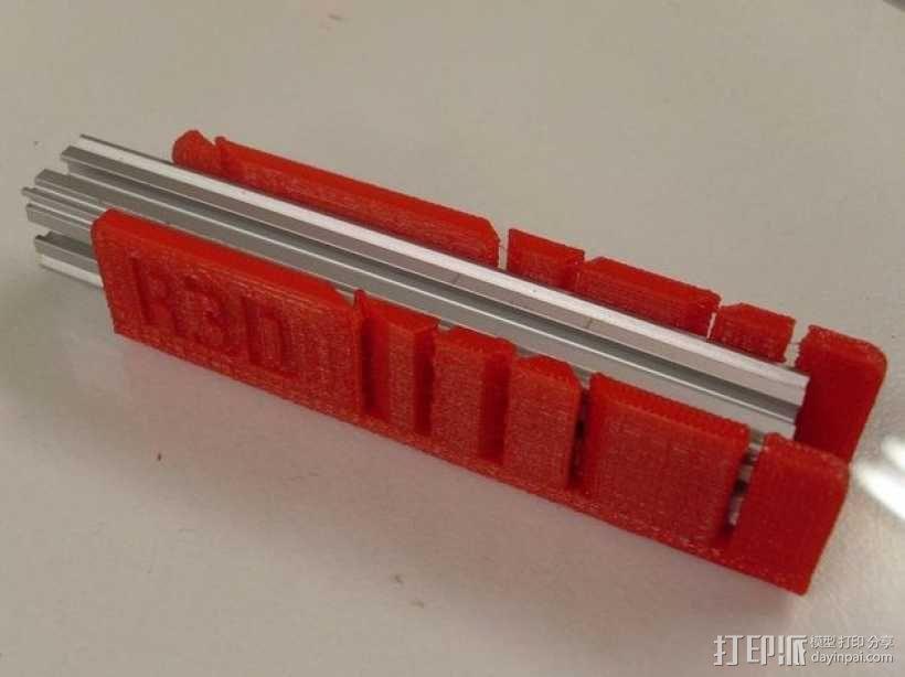钢锯条收纳架 3D模型  图4