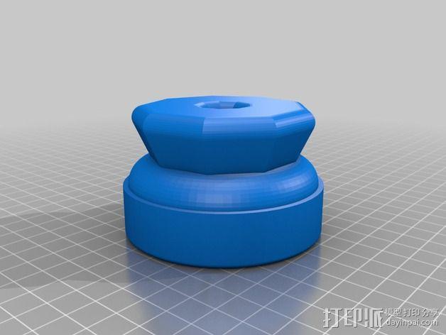 研磨机 3D模型  图1