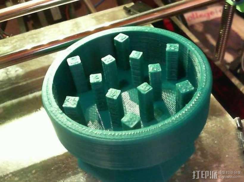 研磨机 3D模型  图4